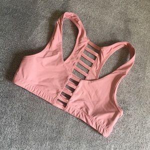 Victoria's Secret Pink Caged Sports Bra